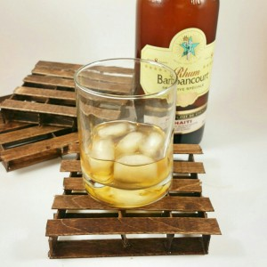 Pallet Coasters made from popsiclesticks