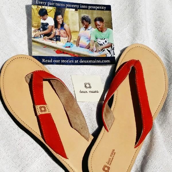 Deux Mains – Authentic Sandals from HaitianArtisans