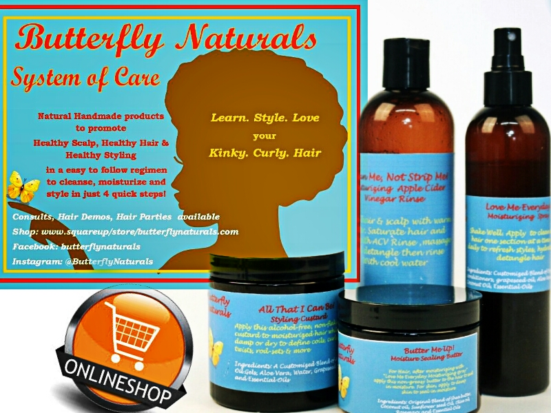 Butterfly Naturals Online Store